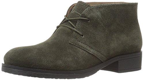 Bandolino Footwear Women's Talon Ankle Bootie, Moss Olive Suede, 9