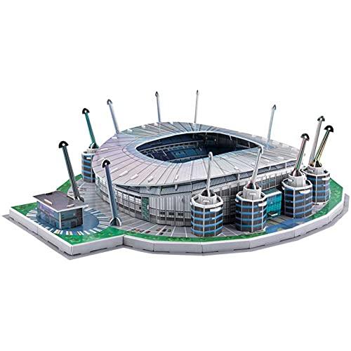 SY-Home Rompecabezas 3D del Estadio Etihad del Manchester City, Colección De Regalos Decorativos para Los Fanáticos De La Copa del Mundo