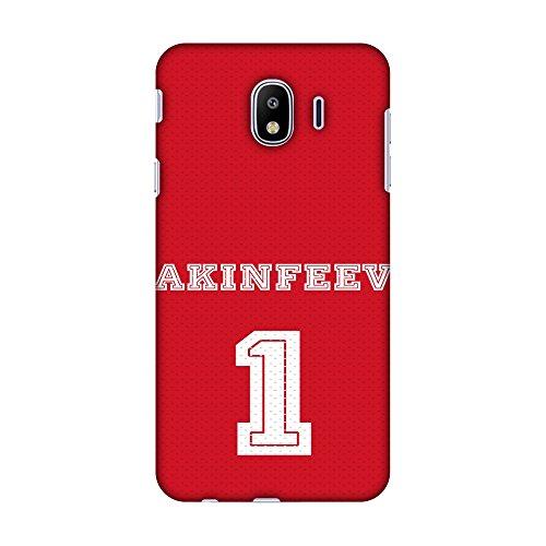 Amzer Schutzhülle für Samsung Galaxy J4 (2018), Design Fußball Akinfeev Trikot