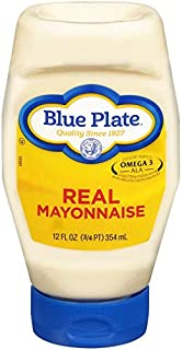 Blue Plate Squeeze Mayonnaise, Regular, 12oz (Pack of 6)
