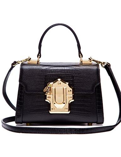 LA'FESTIN Designer Fashion Schultertasche Tasche Handtaschen aus echtem Leder, Luxus-Trendy Accessorize Hobo Große klassische Geldbörsen für Damen, Frauen, Reisen und mehr