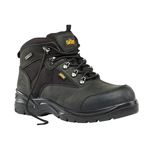 Sicherheitsschuh Stiefel Baustellen Onyx schwarz Größe 9