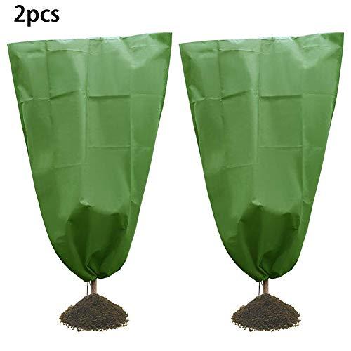 BESTEU 2 Stück Winter Vegetation Cover Kältebeständige Abdeckung für Baumsetzlinge Pflanzendecke Frost- und Schneebeständige Abdeckung