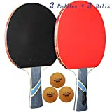 MAPOL 4 Star Professional Ping Pong Paddle Advanced Training Table...