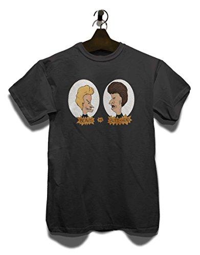 Beavis and Butthead T-Shirt dunkelgrau-Dark-Gray L