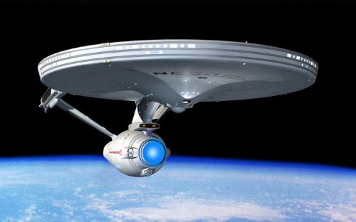 Star Trek Movie Leinwanddruck, gerahmt, 76,2 x 50,8 cm