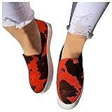 Dasongff Zapatillas deportivas para mujer, ligeras, transpirables, para el tiempo libre, para el gimnasio, cómodas, con bloque de color