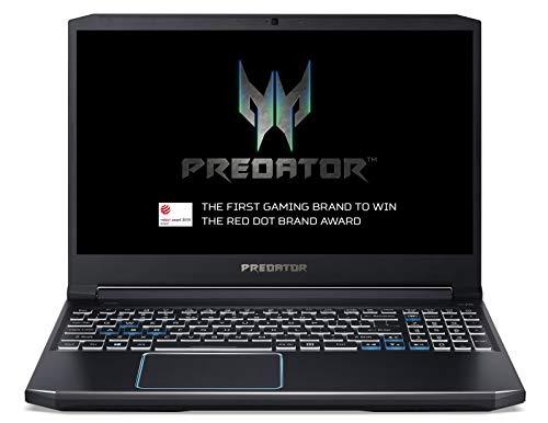 Acer Predator Helios 300 PH315-52 15.6-inch Gaming Laptop - (Intel Core i7-9750H, 8GB RAM, 256GB SSD and 1TB HDD, Nvidia GeForce RTX 2060, Full HD 144Hz Display, Windows 10, Black)