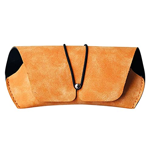 Funda de gafas de sol de PU bolsa suave para gafas con cierre de cuerda elástica bolsa de almacenamiento para dispositivos electrónicos de teléfono