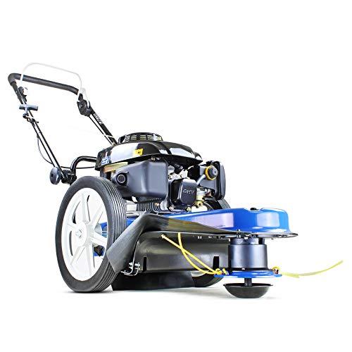 Hyundai HYFT56 160cc Field Grass Trimmer Cordless, String Trimmer, Grass Strimmer, Petrol Strimmer Brush Cutter 350mm Cutting Width, Garden Tools, Blue