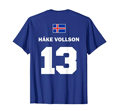 Isländische Namen auf Sauf Trikot Fußball Island Mallorca T-Shirt