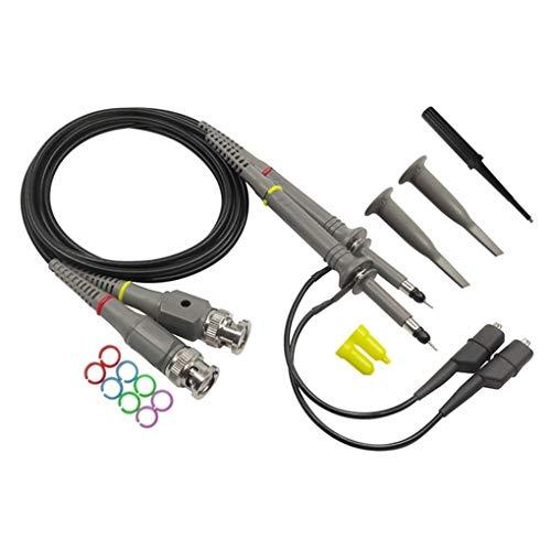 Kit de la sonda del probador, Osciloscopio Sonda DC-Kit 100MHz Alcance Clip sonda de Prueba 100MHz for Tektronix HP X1 / X10