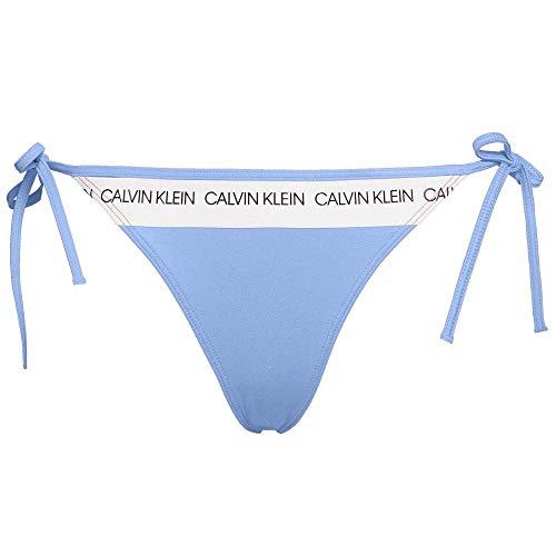 Calvin Klein Corbata Lateral Traje De Baño Bikini Fondo, Joya Persa M Joya Persa