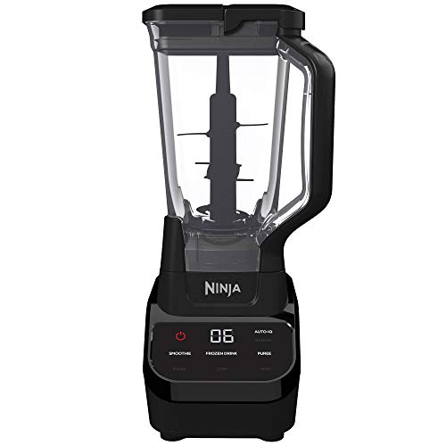 Ninja Blender, Black, 72 oz (Renewed)