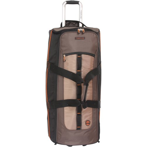 "Timberland 32"" Wheeled Duffle Luggage Bag, Cocoa"