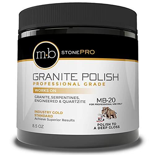 MB Stone Care - MB-20 Granite Polish (8.5 oz. Jar)