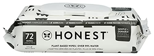 THE HONEST COMPANY Baby Wipes 72 Count, 72 CT