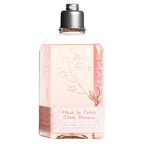 L'Occitane Cherry Blossom Bath & Shower Gel, 8.4 Fl Oz