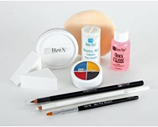 Ben Nye Clown Makeup Kits - Deluxe Whiteface DK-1