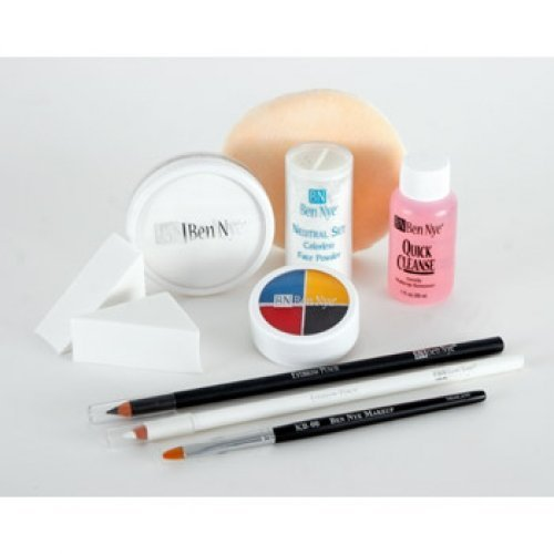 Ben Nye Clown Makeup Kits - Deluxe Whiteface DK-1