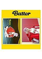 防弾少年団 Butter 写真 ポスター 2枚シール ステッカ 210mm×300mm グッズ ポスター コレク装飾 キャンバス ウォールアート リビングルーム ポスター 寝室の絵画 応援グッズ (6)