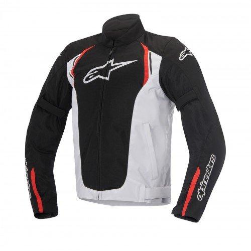 Alpinestars Chaqueta moto Ast Air Textile Negro Blanco Rojo, Negro/Blanco/Rojo, XXL