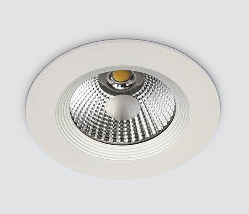 COB LED Downlight Rond Blanc 10 W Aluminium IP20