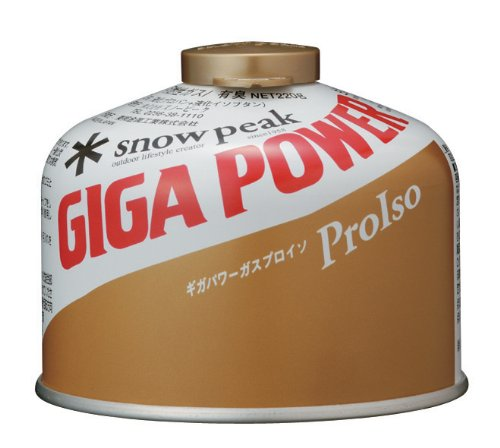 Snow Peak Gigapower Fuel 250 Gold, High Performance Four Season Blend Works in All Conditions, Stows Conveniently Within Trek 900 and Trek 1440 Pots