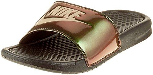 Chinelo Nike Benassi Jdi Print Masculino (43, Preto/Vermelho)