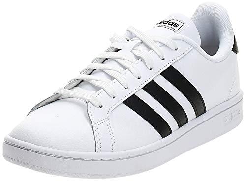 adidas Grand Court sneakers voor heren, wit, zwart, 43 1/3 EU