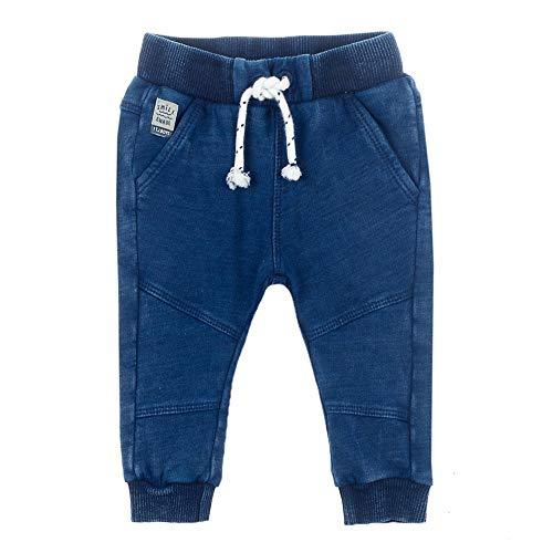 Feetje Pantalon de jogging aspect denim - Bleu - 6 mois