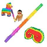 Goods & Gadgets Addobbi per la Festa Pinata da riempire con Dolci per Il Compleanno dei Bambini, Il Matrimonio e Le celebrazioni (Maschera e Occhiali)