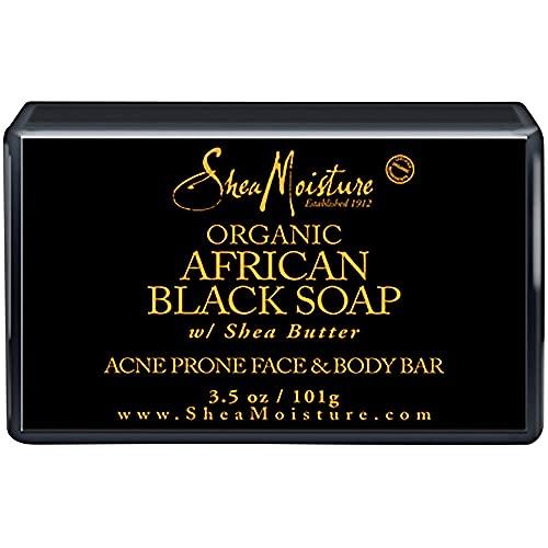 SHEA MOISTURE Organic African Black Soap Acne Prone Face/Body