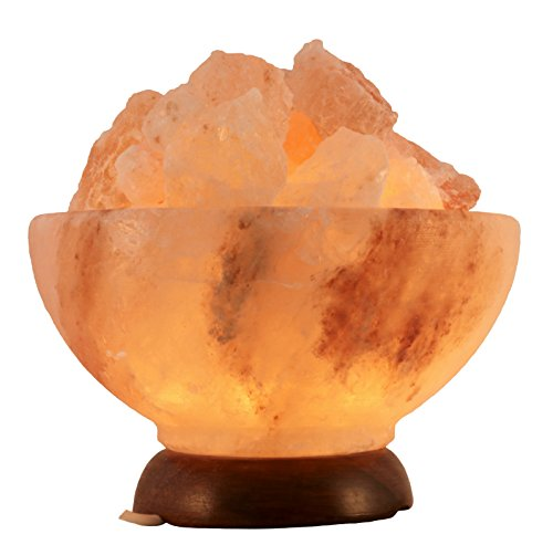 """Salz Kristall Stein Lampe \"""" Salzschale \"""" - Salzlampe- in BIOVA Premiumqualität !"""