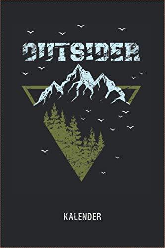 Berg Vintage Outsider toller Wander Kalender 2021 für Natur-Liebhaber als Geschenk: Wander- und Tourenkalender - Toller Berge Kalender 2021 - 114 ... Geschenk für die Wanderausrüstung Taschenbuch