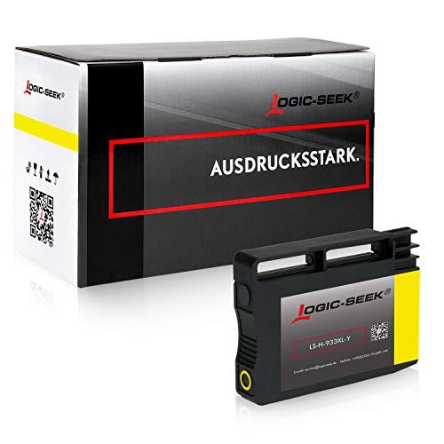 Logic-Seek Tintenpatrone kompatibel zu HP 933XL für HP Officejet 6600 6100 6700 7511 7510 7610 7612