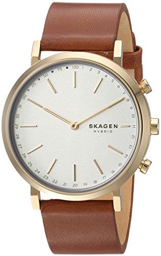 Skagen Women's Hybrid Smartwatch - Hald Brown Leather SKT1206