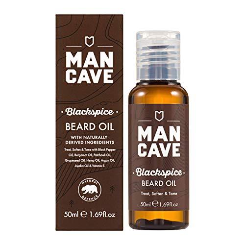 ManCave Blackspice Beard Oil Aceite para la Barba - 50 ml