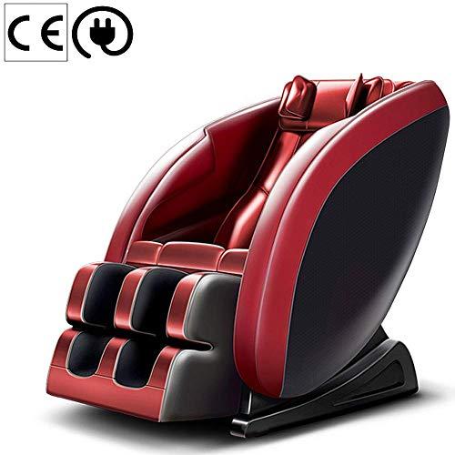 QGLT Silla de Masaje y relajación, Sonido Envolvente 3D - masajeadores de Aire - Gravedad Cero - Masaje con Calor en la Espalda,