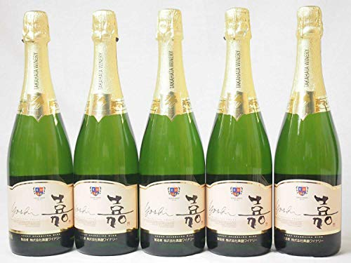 5本セット 高畑 嘉スパークリングスウィート マスカットオレンジ 甘口スパークリングワイン 750ml×5本