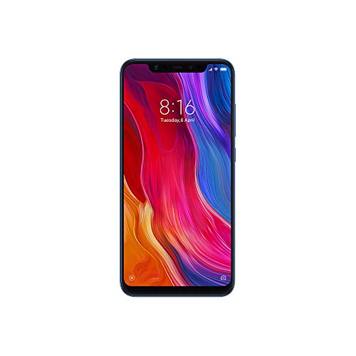 Xiaomi Mi 8 6.21 inch 4G Phablet Global Version RAM 6G (ブルー 6G/64GG)
