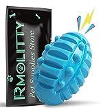 Rmolitty Jouet pour Chien Indestructible, Jouets à couinement Balles Chien Accessoires pour Petit Moyen Grand Chiens