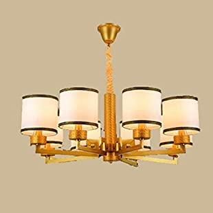 Customer reviews Antique Creative Cloth Chandelier Hallway Aisle Bedroom Balcony Kitchen Dining Hall Restaurant Bar Cafe Decoration Lighting