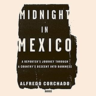 Midnight in Mexico audiobook cover art
