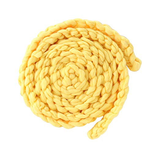 Check Out This Wenje Newborn Baby Wool Braid Blanket Backdrop, Twist Rope Knitted Rug Basket Stuffed...