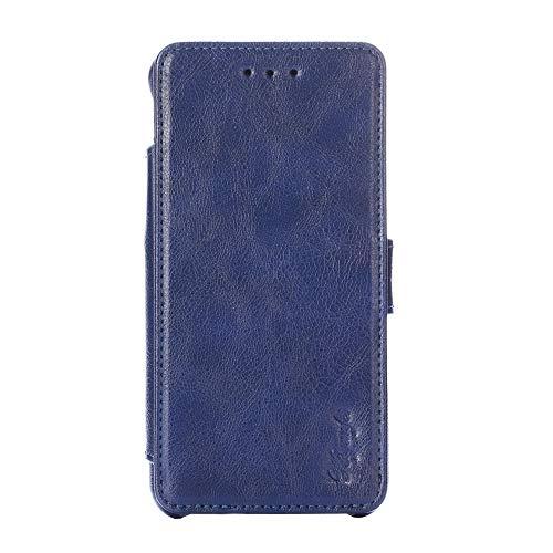 Oujietong KHJBU Funda para Xiaomi MI6 Funda Carcasa Case Cover - Blue