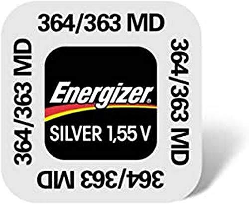 Energizer 364 363 SR60 SR 621 SW Uhren Knopfzelle