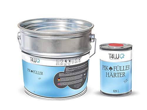 T4W PIK 2K HS Acrylfiller Grundierung 5:1 Füller Weiss - 4,0 Liter inkl. Härter 0,8 Liter (59049)