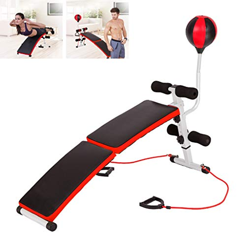 Home Gym Adjustable Weight Bench Foldable Workout Bench, Adjustable Sit Up Incline Abs Benchs Flat Fly Weight Press...