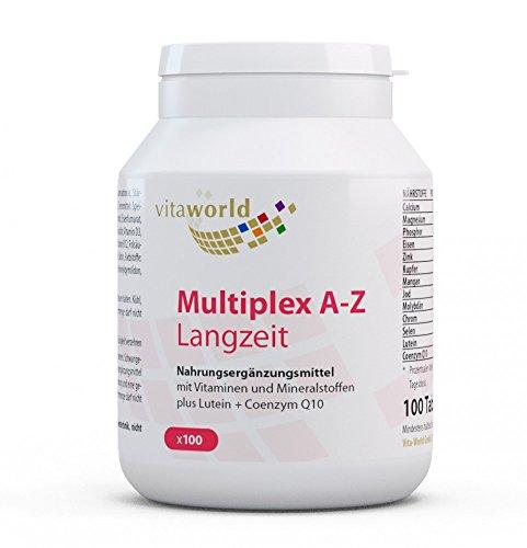 Vita World Multivitamin A-Z Langzeit 100 Tabletten Multiplex Apotheken Herstellung